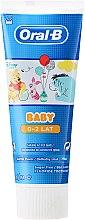 Parfémy, Parfumerie, kosmetika Dětská zubní pasta - Oral-B Baby Winnie Pooh Toothpaste