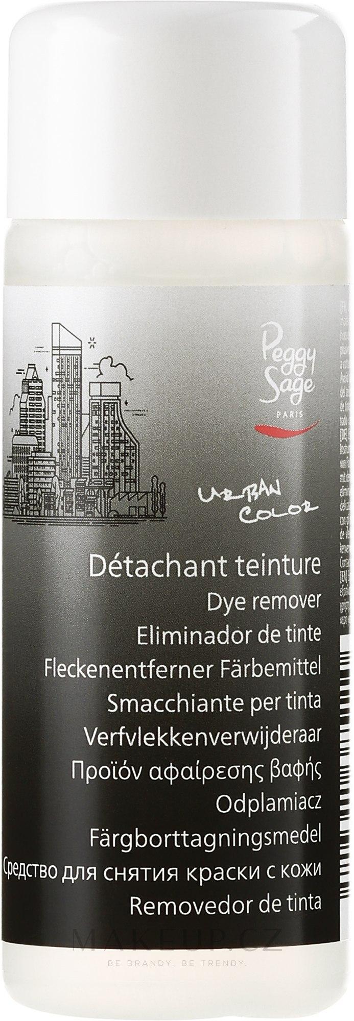 Prostředek pro odstraňování barvy s kůží - Peggy Sage Dye Remover — foto 100 ml