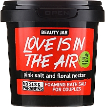 "Parfémy, Parfumerie, kosmetika Pěnivá sůl do koupele ""Love Is In The Air"" - Beauty Jar Foaming Bath Salt"