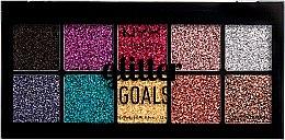 Parfémy, Parfumerie, kosmetika Paleta krémových třpytek na obličej a tělo - NYX Professional Glitter Goals