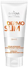 Parfémy, Parfumerie, kosmetika Intenzivní peeling na tělo - Farmona Professional Dermo Slim Intensively Body Scrub