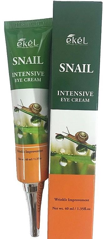 Oční krém s hlemýždím mucinem - Ekel Snail Intensive Eye Cream