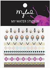 Parfémy, Parfumerie, kosmetika Samolepky na nehty Aztek - MylaQ My Aztek Sticker