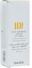 Parfémy, Parfumerie, kosmetika Krém na nohy s 10% močovinou - Babe Laboratorios Foot Repairing Cream 10 % Urea