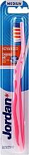 Parfémy, Parfumerie, kosmetika Zubní kartáček Advanced, růžový - Jordan Advanced Medium