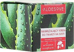 Parfémy, Parfumerie, kosmetika Hydratační denní krém na obličej - Aloesove