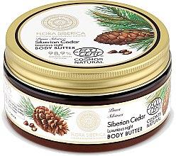 Parfémy, Parfumerie, kosmetika Noční tělový olej - Natura Siberica Flora Siberica Siberian Cedar Luxurious Night Body Butter