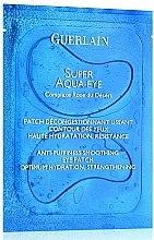 Parfémy, Parfumerie, kosmetika Vyhlazující náplasti na oči - Guerlain Super Aqua-Eye Anti-Puffness Smoothing Eye Patch
