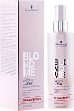Tónovací sprej - Schwarzkopf Professional BlondMe Instant Blush Spray — foto N1