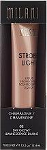 Parfémy, Parfumerie, kosmetika Kremový rozjasňovač na obličej - Milani Strobe Light Liquid Highlighter