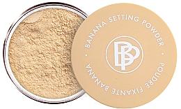 Parfémy, Parfumerie, kosmetika Minerální sypký pudr s fixací make-upu - Bellapierre Cosmetics Banana Setting Powder