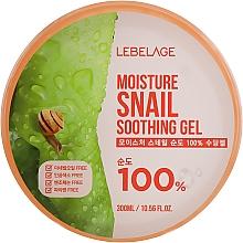 Parfémy, Parfumerie, kosmetika Multifunkční zvlhčující gel na obličej a tělo s hlemýžďovým mucinem - Lebelage Moisture Snail 100% Soothing Gel