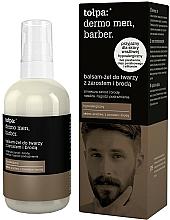 Parfémy, Parfumerie, kosmetika Gelové mléko na obličej - Tolpa Dermo Men Barber