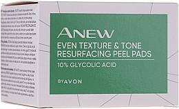Parfémy, Parfumerie, kosmetika Peelingové polštářky na obličej - Avon Anew Even Texture & Tone Resurfacing Peel Pads