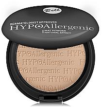 Parfémy, Parfumerie, kosmetika Matující hypoalergenní pudr - Bell HypoAllergenic Mat Powder