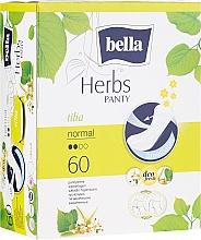 Parfémy, Parfumerie, kosmetika Vložky Panty Herbs Tilia, 60 ks. - Bella