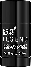 Parfémy, Parfumerie, kosmetika Montblanc Legend Stick - Deodorant