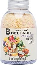 Parfémy, Parfumerie, kosmetika Zjemňující kuličky do koupele Tropické ovoce - Fergio Bellaro Tropical Cocktail Bath Caviar