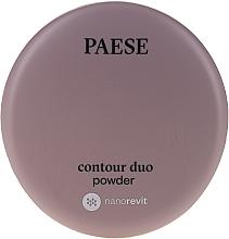 Parfémy, Parfumerie, kosmetika Dvojitý pudr na konturování - Paese Contour Duo Powder
