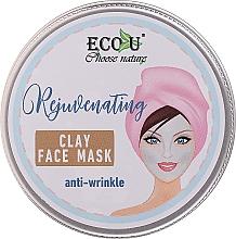 Parfémy, Parfumerie, kosmetika Jílová pleťová maska proti vráskám - Eco U Anti-Wrinkle Clay Face Mask