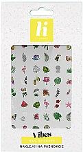 Parfémy, Parfumerie, kosmetika Nálepky na nehty - Hi Hybrid Vibes Nail Stickers