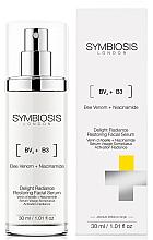 Parfémy, Parfumerie, kosmetika Regenerační rozjasňující pleťové sérum - Symbiosis London Delight Radiance Restoring Facial Serum