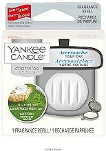 Parfémy, Parfumerie, kosmetika Automobilový osvěžovač vzduchu (náhradní náplň) - Yankee Candle Charming Scents Refill Clean Cotton
