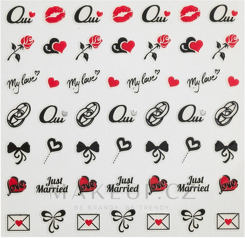 Nálepky pro nehtový design - Peggy Sage Decorative Nail Stickers Wedding — foto 149048