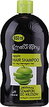 Parfémy, Parfumerie, kosmetika Šampon pro suché a poškozené vlasy Jablko - Bluxcosmetics Naturaphy Apple Hair Shampoo