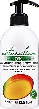 """Parfémy, Parfumerie, kosmetika Výživný tělový lotion """"Mango"""" - Naturalium Body Lotion Mango"""
