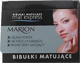 Parfémy, Parfumerie, kosmetika Sada zmatňujících ubrousků na obličej, 4ks+1 - Marion Mat Express