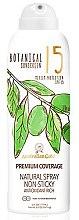 Parfémy, Parfumerie, kosmetika Ochranný sprej proti slunci - Australian Gold Botanical Sunscreen Premium Coverage Natural Spray SPF 15