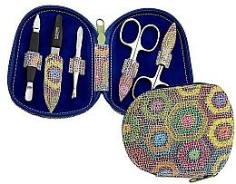 Parfémy, Parfumerie, kosmetika Sada nástrojů pro manikúru - DuKaS Premium Line Manicure Set 5-piece PL 111FP
