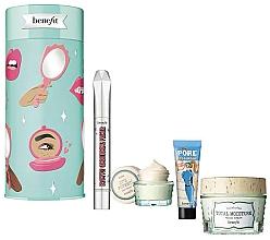 Parfémy, Parfumerie, kosmetika Sada - Benefit Your B.Right To Party Set (f/cr/48.2g + br/primer/3ml + f/primer/7.5ml + eye/cr/14.2g)