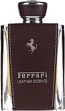 Parfémy, Parfumerie, kosmetika Ferrari Leather Essence - Parfémovaná voda ( tester s víčkem)