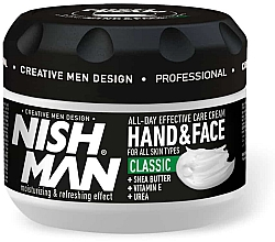 Parfémy, Parfumerie, kosmetika Krém na ruce a obličej - Nishman Hand & Face Cream Classic