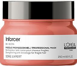 Parfémy, Parfumerie, kosmetika Zpevňující maska na vlasy - L'Oreal Professionnel Inforcer Strengthening Anti-Breakage Masque