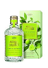 Parfémy, Parfumerie, kosmetika Maurer & Wirtz 4711 Aqua Colognia Lime & Nutmeg - Kolínská voda