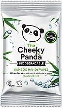 Parfémy, Parfumerie, kosmetika Vlhčené ubrousky - The Cheeky Panda Biodegradable Bamboo Handy Wipes