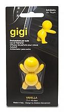 Parfémy, Parfumerie, kosmetika Vůně do auta - Mr&Mrs Gigi Car Freshener Yellow Vanilla