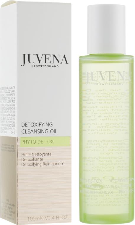 Čistící olej - Juvena Phyto De-Tox Cleansing Oil — foto N1