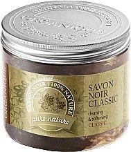 Parfémy, Parfumerie, kosmetika Přírodní olivové mýdlo - Organique Savon Noir Cleaning&Softening