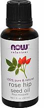 Parfémy, Parfumerie, kosmetika Esenciální olej Šípek - Now Foods Essential Oils 100% Pure Rose Hip Seed Oil