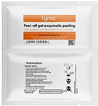 Parfémy, Parfumerie, kosmetika Enzymová pleťová maska - Lynia Peel Off Gel Enzymatic Peeling