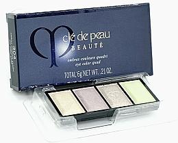 Parfémy, Parfumerie, kosmetika Paleta očních stínů - Cle De Peau Beaute Eye Color Quad Refill