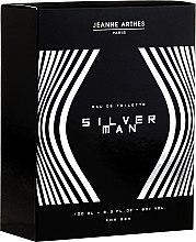Parfémy, Parfumerie, kosmetika Jeanne Arthes Silver Man - Toaletní voda