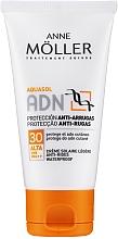 Parfémy, Parfumerie, kosmetika Opalovací pletový krém proti vráskám - Anne Moller ADN Sun Cream Anti-Rides SPF30