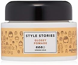 Parfémy, Parfumerie, kosmetika Pomáda na vlasy se silnou fixací - Alfaparf Milano Style Stories Glossy Pomade Strong Hold