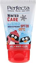 Parfémy, Parfumerie, kosmetika Ochranný zimní krém pro děti - Perfecta Winter Care Cream SPF20