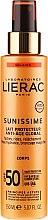 Parfémy, Parfumerie, kosmetika Energizující ochranné mléko SPF 50 - Lierac Sunissime